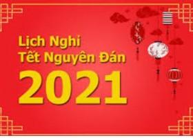 Thông Báo Nghỉ Tết Nguyên Đán 2021
